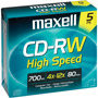 CDRW-700HS/5 - 12x High-Speed Rewritable CD-RW