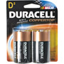 D2 DURACELL - D Cell Alkaline Battery Retail Pack