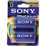 D2 SONY - Stamina Platinum Akaline Batteries