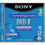 DMR-60 DS/3 - 8cm Double Sided DVD-R