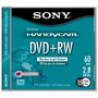 DPW-60D - 8cm Double-Sided Rewritable DVD+RW for Camcorders