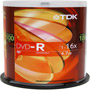 DVD-R47FCB/100 - 16x Write-Once DVD-R Spindle