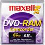 DVD-RAM CAM/PANA/2PK - 8cm DVD-R & DVD-RAM Round Cartridges for DVD Camcorders