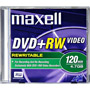 DVD+RWV-47MX - 4.7GB Rewriteable DVD+RW Disc for Video