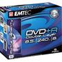EKOVPR8558JC - 8x Write-Once Double Layer DVD+R