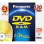 LM-AF120LU5 - Rewritable DVD-RAM Disc without Cartridge