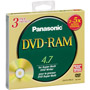 LM-HC47ME - Rewritable Single Sided DVD-RAM Disc