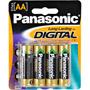 LR-6GA/8B - High-Capacity AA Alkaline Batteries for Digital Electronics