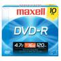 MXL-DVD-R/10 - 16x Write-Once DVD-R