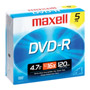 MXL-DVD-R/5 - 16x Write-Once DVD-R