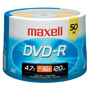 MXL-DVD-R/50 - 16x Write-Once DVD-R Spindle