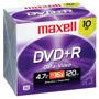 MXL-DVD+R/10 - 16x Write-Once DVD+R