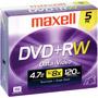 MXL-DVD+RW/5 - 4x Rewritable DVD+RW