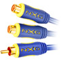 NX-0231 - Video-Shielded Y-Cable with RCA Connectors