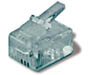 S60150 - 4-Conductor Modular Outlet Plug