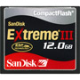 SDCFX3-12288-901 - 12GB Extreme III High-Performance CompactFlash Memory Card