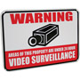 SGN100 - Aluminum Warning Sign with 3M Reflective Vinyl Coating