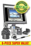 PlanetCam Pan & Tilt PC/Internet Motion-Activated 8-piece System